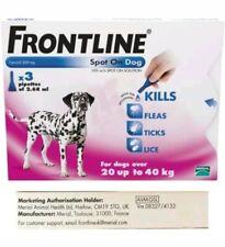 Frontline Spot On Flea & Tick for Large Dogs 20-40kg - 3 pipettes - AVM-GSL
