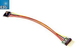 ESU 59826 LokPilot micro DCC Decoder V5.0 6-polig NEM 651 - NEU + OVP