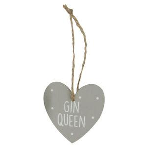 Gin Queen Wooden Hanger - Cracker Filler Gift | Cracker Fillers & Gifts