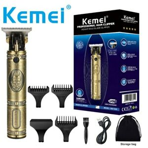 Kemei-700B Barber Oil Head 0mm Electric Hair Trimmer Professional Haircut Shaver