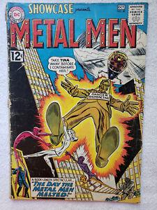 Showcase: Metal Men #40 (Oct 1962, DC) [VG 4.0]