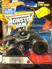 HOT WHEELS SOLDIER FORTUNE Special Ops blackout edition MONSTER JAM TRUCK