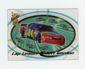 Jeff Gordon 1998 98 Press Pass VIP Lap Leader Insert Clear Acetates Parallel LL3