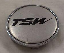 TSW Wheels Silver / Chrome Custom Wheel Center Cap Caps # C-C31