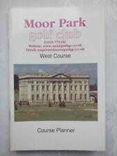 Moor Park.rickmansworth Hertfordshire, Ouest Plat Golf GUIDE.2003