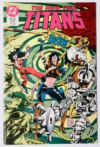 The New Teen Titans #26 (Dec 1986, DC) VF