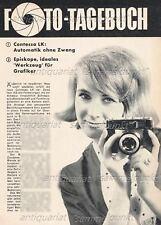 Zeiss Ikon Contessa LK  - Original Bericht von 1962