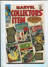 MARVEL COLLECTORS ITEM #4 - FANTASTIC FOUR + STRANGE TALES! - (7.5) 1966