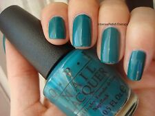 NEW! OPI NAIL POLISH Nail Lacquer in AMAZON... AMAZOFF ~ Deep jungle green