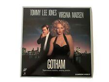 Laserdisc Movies Gotham Tommy Lee Jones Virginia Madsen Drama Thriller