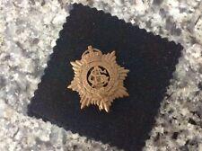 British army service corps short slider Cap Badge