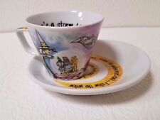 WIZARD OF OZ FROTHY 6.5  EXPRESSO CUP AND SAUCER BY PAUL CARDEW NEW
