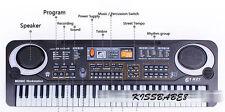 Kids' 61 Keys Electric Piano Child Digital Keyboard Organ+Mic&Adapter