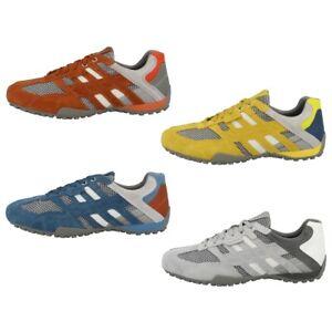Geox U Snake E Herren Sneaker low verschiedene Farben Turnschuhe Sportschuhe
