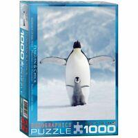 Eurographics Puzzle 1000 Piece Jigsaw Puzzle  - Penguin & Chick  EG60001246