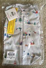 NWT Hanna Andersson One Piece Christmas 🎄 Holiday LJ Pajamas, Size 80.