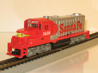 HO TYCO 5628 Santa Fe Diesel Locomotive FOR RESTORATION