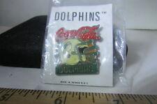 Vintage NFL Hat/Lapel Pin Miami Dolphins Coca Cola Helmet Pin