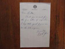 ROBERT  JOHNSON  Signed Personal Letter-1975 Tufts  University  Basketball Coach