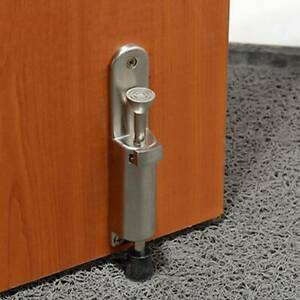 Home High Quality Metal Collard Door Stop Stopper Floor Wall Protector SG