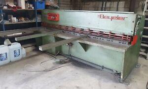 Used Beyeler Hydraulic Guillotine  4mm x 2500mm  £ 5,950 + Vat  £7,140.00