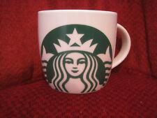 NEW Starbucks Coffee Mug 14 Oz Classic Green Mermaid Logo 2017 White NEW
