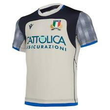 New listing ITALY RUGBY MACRON - OFFICIAL TRAINING SHIRT JERSEY - SEASON 2019/20