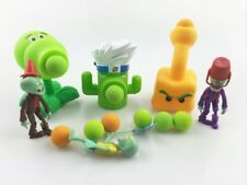 PLANTS vs ZOMBIES - SET 6 FIGURAS / 6 FIGURES SET 10cm (+ 20 BOLAS / BALLS)