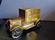 VTG.ORIGINAL 1950'S 1926 FORD BANTHRICO INC CHICAGO USA CAR METAL BANK-ACB-EBLEM