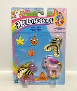 My Little Pony MLP G2 UK 2000 Year 4 Twin Baby Ponies Dart And Dash New MOC