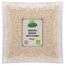 Organic Brown Rice Flakes 500g- Certified Organic