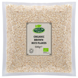 Organic Brown Rice Flakes 500g- Certified Organic