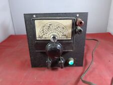 Vintage Antique Unknown Vacuum Tube Radio 6-Band Tuner - Turns On - Parts/Repair