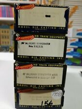 Ho Scale Roundhouse Refrigerator Cars Lot of 4 Kit # 3143;#3132;#3121;#3139