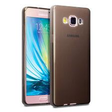 Samsung Galaxy A5 2017 Extreme Element Case Zero-Schock Micro Gel Rauch Schwarz