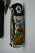 The Spirit of The Eagle Collector Knife, Franklin Mint w Case, papers, Preowned