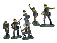 BRITAINS SUPER DEETAIL WWII German Army 6 Painted Toy Soldiers 1/32 FREE SHIP