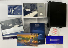 New Listing2003 Acura Tl Owners Manual With Case