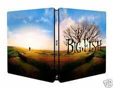 Big Fish [2003] (Blu-ray Region-Free)~Steelbook~Ne w & Sealed