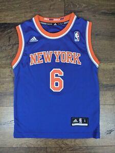 Adidas New York Knicks Tyson Chandler Jersey Size Youth Small