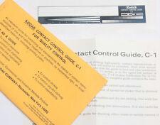 Kodak Contact Control Guide C-1 Q-94 Graphics Line Exposure Tool - OPEN EX+ B111