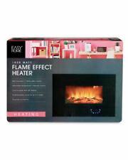 Flame Effect Wall Mounted 1800 Watt Heater LED Display