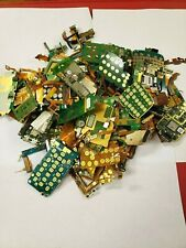 Cell Phone Circuit Boards for Precious Metal Gold Scrap Recovery 1 Pound Clean!