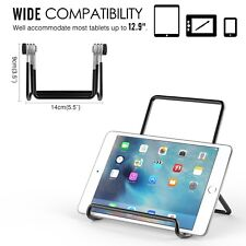 """Adjustable Portable Metal Holder Cradle For iPad air, Pro Stand 7-9"""" Tablets"""