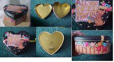 "Mary Engelbreit Tin Box Heart Scottie ""All You Need Is A Friend"" 2000 Me"