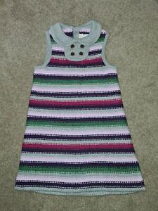 NWT Janie & Jack Girls Stripe knitted dress size 3T