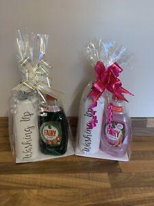 Washing Up 500ml White Pump Bottle Gift Set With Fairy Liquid Mrs Hinch