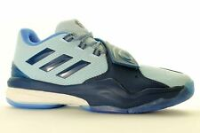 adidas Derrick Rose Basketball BOOTS Now Only 2 Styles UK 9 (us 9.5 EU 43 1/3) Blue/white Aq7225