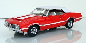 Franklin/danbury mint 1:24 1970 Oldsmobile 442 W30 classic model boxed rare 118