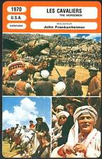 LES CAVALIERS - Sharif,Palance,Frankenheimer (Fiche Cinéma) 1970 - The Horsemen